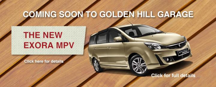 Golden Hill Garage - Proton Exora