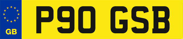 Cherished Number Plate For Sale